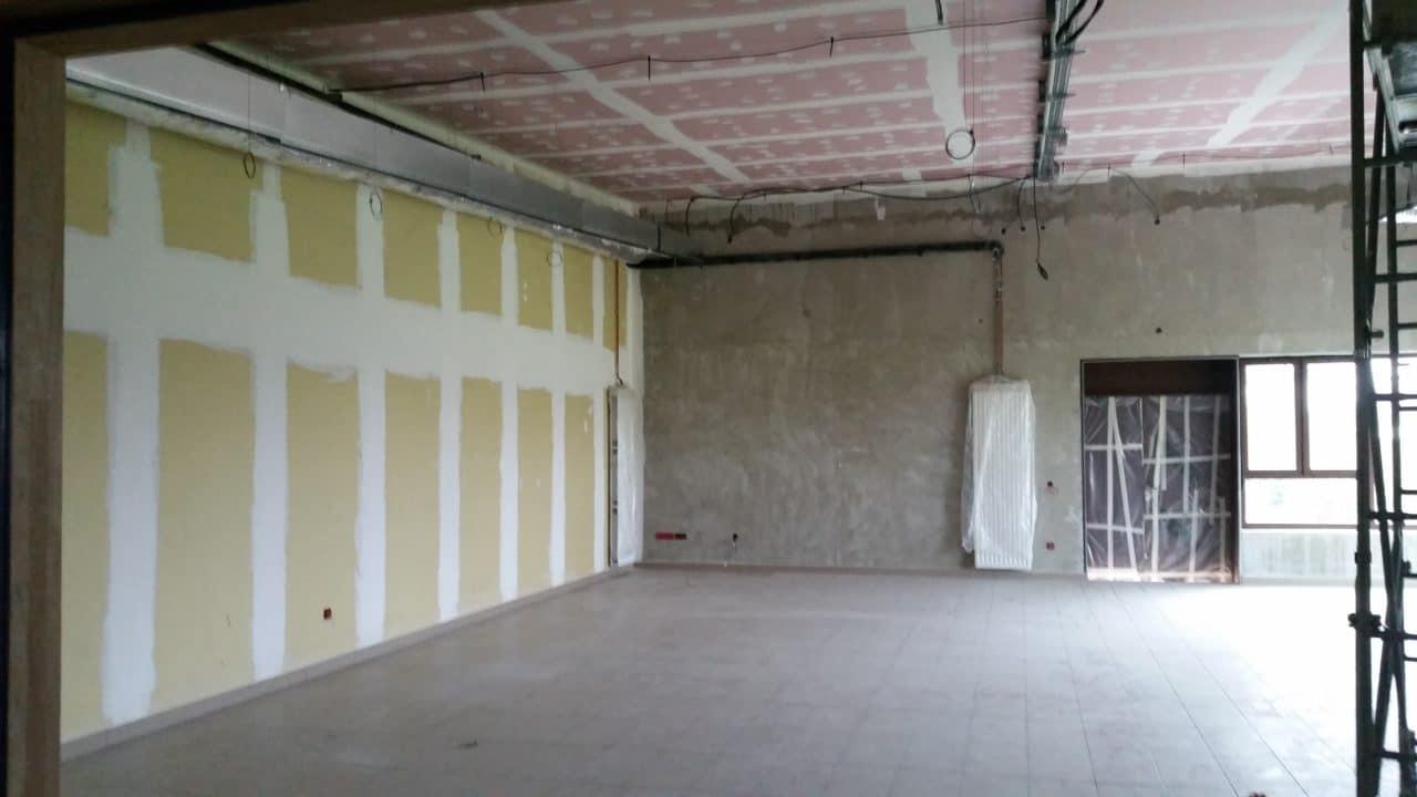 Doublage thermique et plafond écran coupe-feu